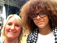 Lynne with Perri from Diversity